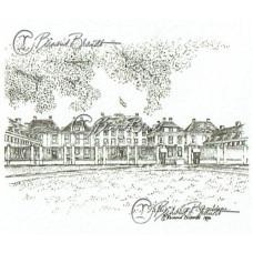 Paleis Het Loo, front