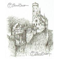 Schloss Lichtenstein bij Reutlingen