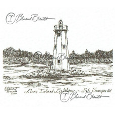Loon Island Light, Sunapee NH